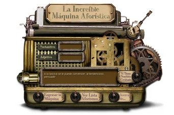 máquina aforística